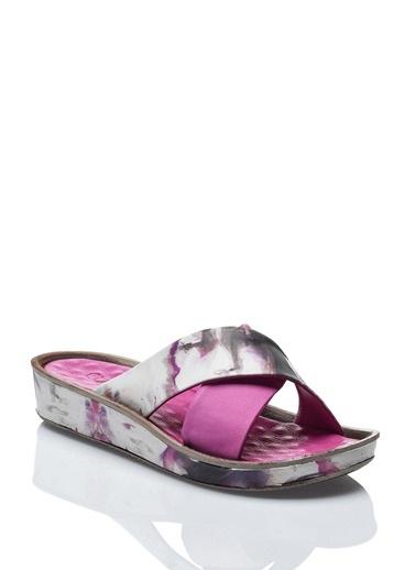 %100 Deri Sandalet Camore